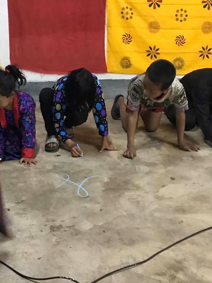 Singye Namgyel Primary School, 134 Children & Tao Calligraphy Gallery 2