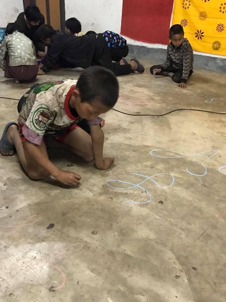 Singye Namgyel Primary School, 134 Children & Tao Calligraphy Gallery 7